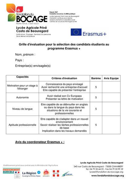 Un Lycée Ouvert Sur L Europe Avec Erasmus